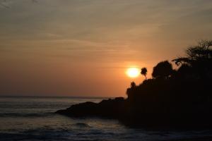 Sunset over the Sunset Beach!