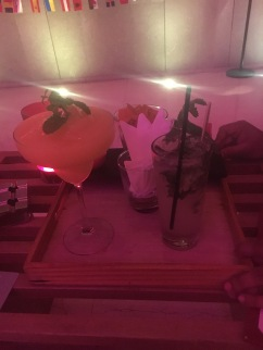 Cocktails at the lounge